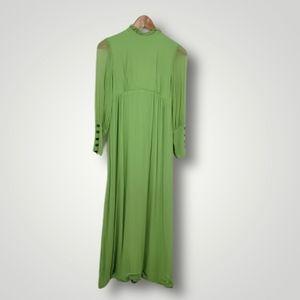 Vintage Long Sleeve Prairie Handmade Dress
